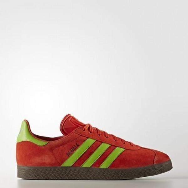 Adidas Gazelle Homme Core Red/Semi Solar Green/Gum...