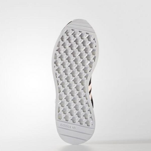 Adidas Iniki Runner Femme Core Black/Haze Coral/Footwear White Originals Chaussures NO: BB0000