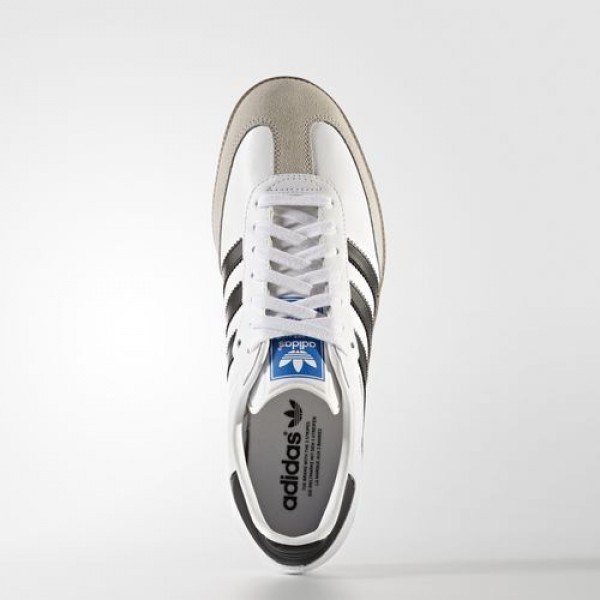Adidas Samba Original Homme Footwear White/Core Black/Gum Originals Chaussures NO: BB2588