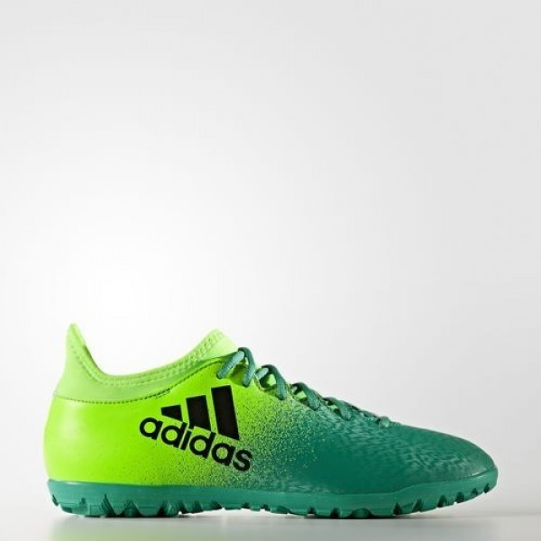 Adidas X 16.3 Turf Homme Solar Green/Core Black/Co...
