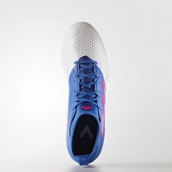 Adidas Ace 17.3 Primemesh Turf Homme Blue/Shock Pink/Footwear White Football Chaussures NO: BB0862