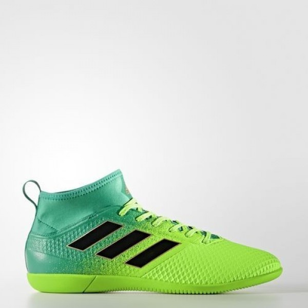 Adidas Ace 17.3 Primemesh Indoor Homme Solar Green/Core Black/Core Green Football Chaussures NO: BB1023