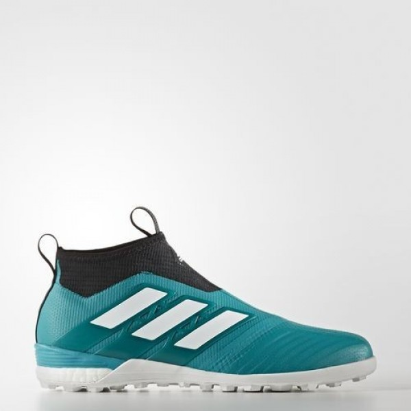 Adidas Ace Tango 17+ Purecontrol Eqt Green Turf Homme EQT Green/Footwear White/Core Black Football Chaussures NO: BY2514