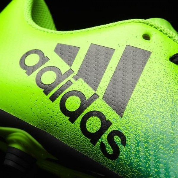 Adidas X 16.4 Multi-Surfaces Homme Solar Green/Core Black/Core Green Football Chaussures NO: BB5939