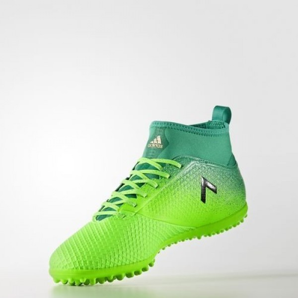 Adidas Ace 17.3 Primemesh Turf Homme Solar Green/Core Black/Core Green Football Chaussures NO: BB5972