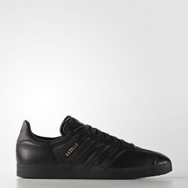 Adidas Gazelle Femme Core Black/Gold Metallic Orig...