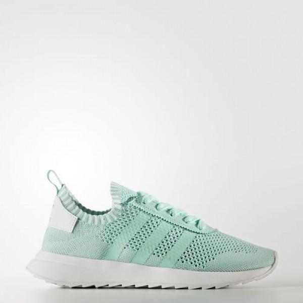 Adidas Flb Primeknit Femme Easy Green/Footwear Whi...