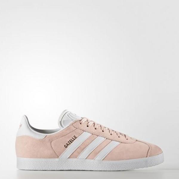 Adidas Gazelle Femme Vapour Pink/White/Gold Metall...