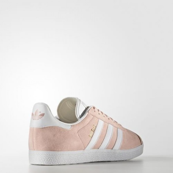 Adidas Gazelle Femme Vapour Pink/White/Gold Metallic Originals Chaussures NO: BB5472