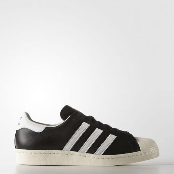 Adidas Superstar 80S Femme Core Black/White/Chalk ...