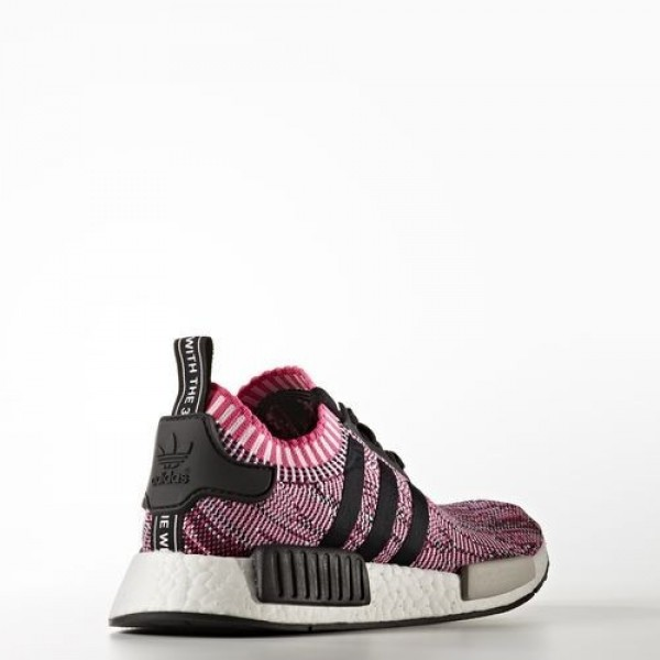 Adidas Nmd_R1 Femme Shock Pink/Core Black/Footwear White Originals Chaussures NO: BB2363