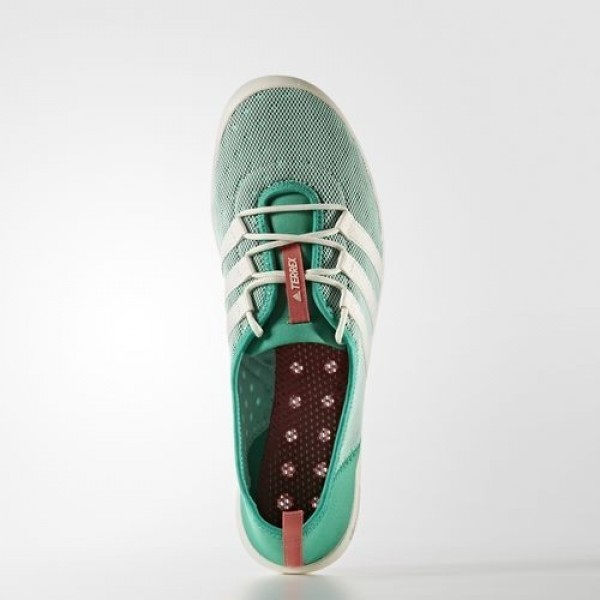 Adidas Terrex Climacool Sleek Boat Femme Core Green/Chalk White/Tactile Pink Chaussures NO: BB1921