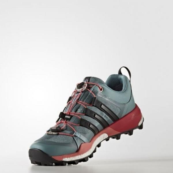 Adidas Terrex Skychaser Gtx Femme Vapour Steel/Core Black/Tactile Green Chaussures NO: BB0944