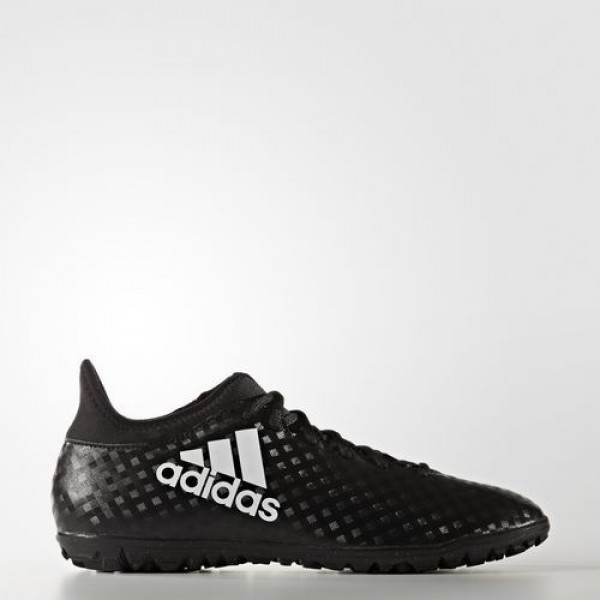 Adidas X 16.3 Turf Homme Core Black/Footwear White Football Chaussures NO: BB5664