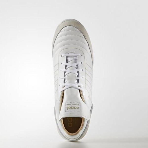 Adidas Mundial Team Modern Craft Homme Footwear White/Gold Metallic Football Chaussures NO: BA7623