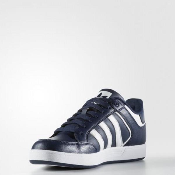 Adidas Varial Low Homme Collegiate Navy/Footwear White Originals Chaussures NO: BB8763