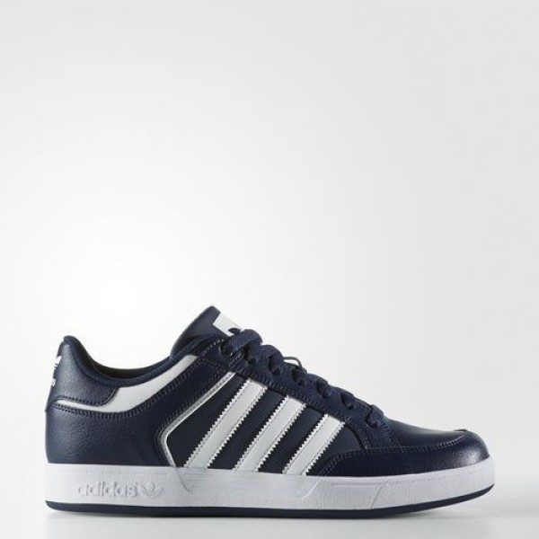 Adidas Varial Low Homme Collegiate Navy/Footwear W...