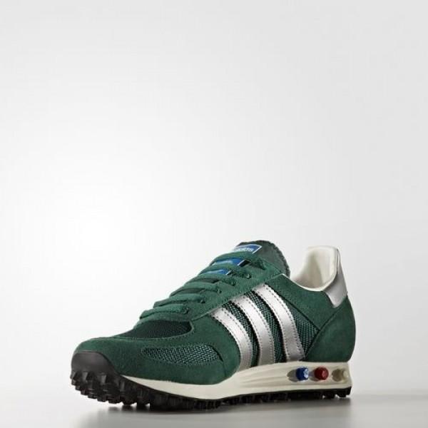 Adidas La Trainer Og Homme Collegiate Green/Matte Silver Originals Chaussures NO: BB2818