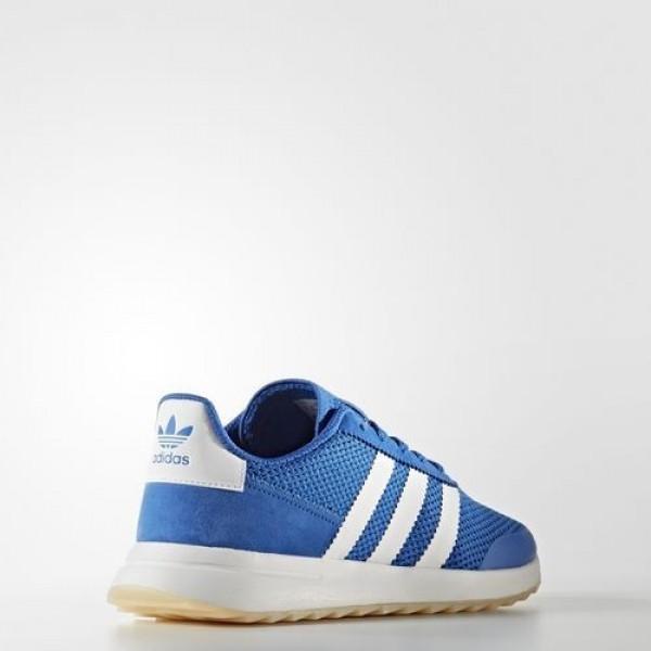 Adidas Flashrunner Femme Blue/Footwear White Originals Chaussures NO: BA7757