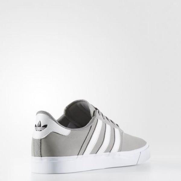 Adidas Claremont Adv Homme Solid Grey/Footwear White Originals Chaussures NO: BB8516