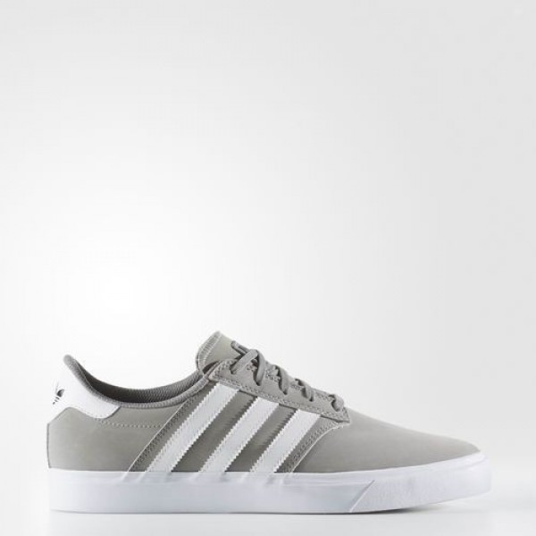 Adidas Claremont Adv Homme Solid Grey/Footwear Whi...