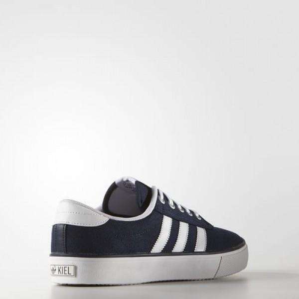 Adidas Kiel Femme Collegiate Navy/Footwear White/Carbon Originals Chaussures NO: D69234