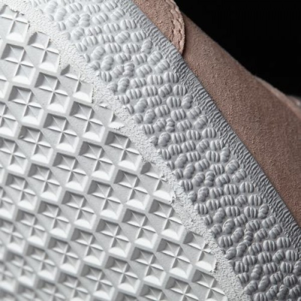 Adidas Gazelle Homme Vapour Pink/White/Gold Metallic Originals Chaussures NO: BB5472