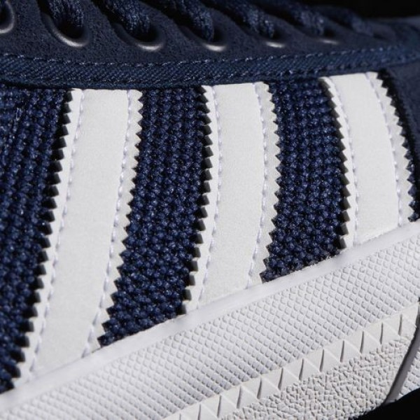 Adidas Lucas Premiere Adv Homme Collegiate Navy/Footwear White/Scarlet Originals Chaussures NO: BB8541
