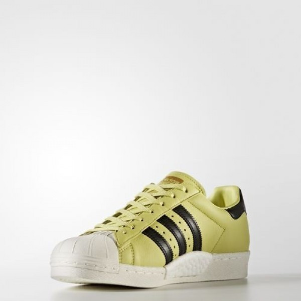 Adidas Superstar Boost Femme Bliss Lime/Core Black/Off White Originals Chaussures NO: BB2730