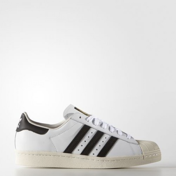 Adidas Superstar 80S Homme White/Core Black/Chalk ...