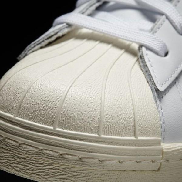 Adidas Superstar 80S Homme White/Core Black/Chalk White Originals Chaussures NO: G61070
