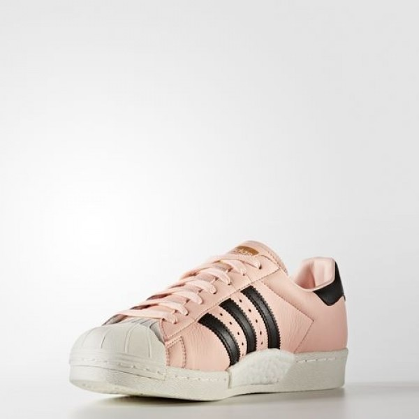 Adidas Superstar Boost Femme Haze Coral/Core Black/Off White Originals Chaussures NO: BB2731