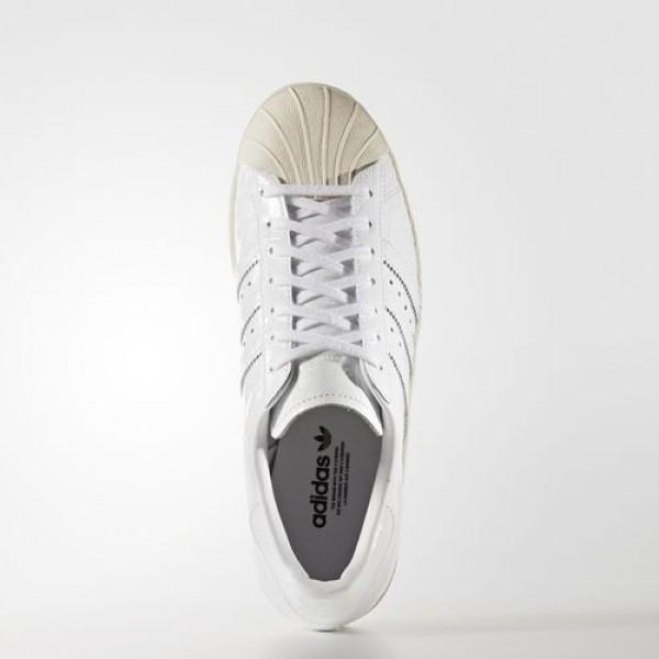 Adidas Superstar 80S Femme Footwear White/Off White Originals Chaussures NO: BB2056