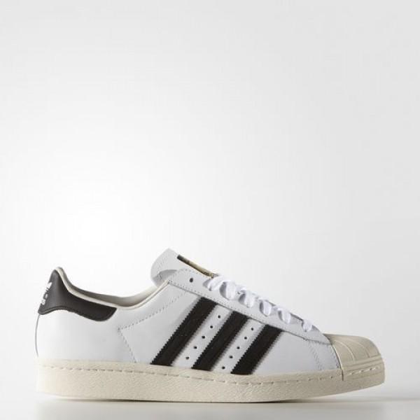 Adidas Superstar 80S Femme White/Core Black/Chalk ...