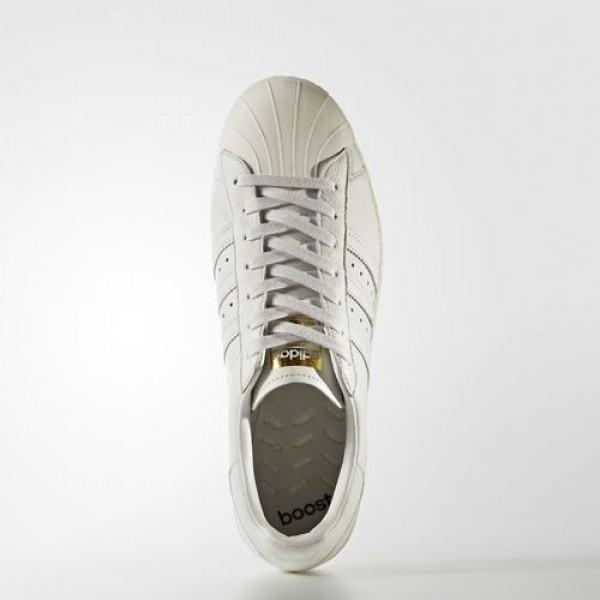 Adidas Superstar Boost Homme Vintage White/Gold Metallic Originals Chaussures NO: BB0187