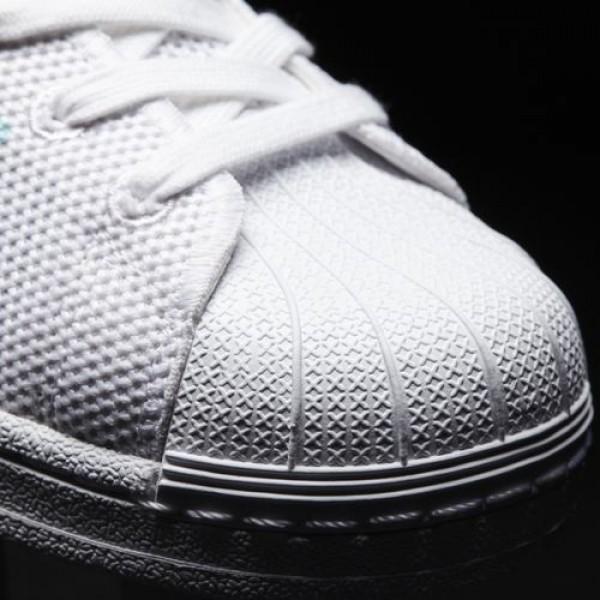 Adidas Superstar Femme Footwear White/Easy Mint Originals Chaussures NO: BA7137