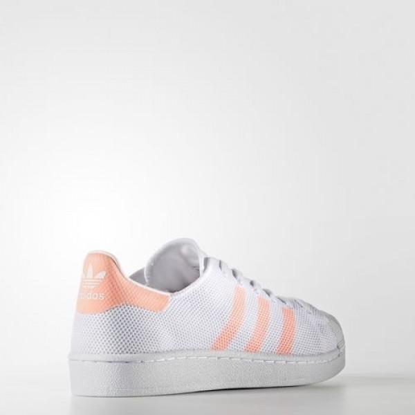 Adidas Superstar Femme Footwear White/Sun Glow Originals Chaussures NO: BA7736