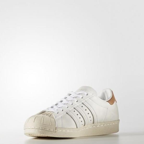 Adidas Superstar 80S Femme Footwear White/Off White Originals Chaussures NO: BB2058