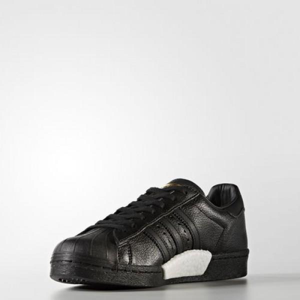Adidas Superstar Boost Homme Core Black/Gold Metallic Originals Chaussures NO: BB0186