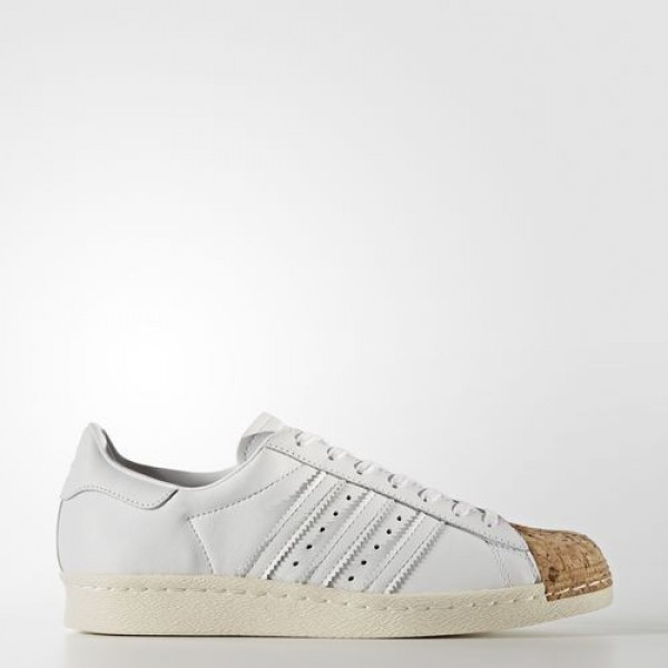 Adidas Superstar 80S Femme Footwear White/Off White Originals Chaussures NO: BA7605