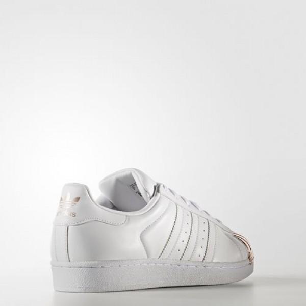 Adidas Superstar 80S Femme Footwear White/Copper Metallic Originals Chaussures NO: BY2882