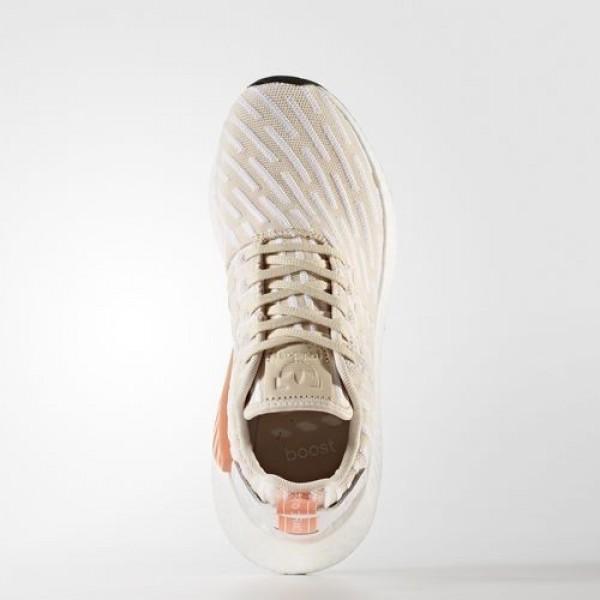Adidas Nmd_R2 Femme Linen/Footwear White Originals Chaussures NO: BA7260