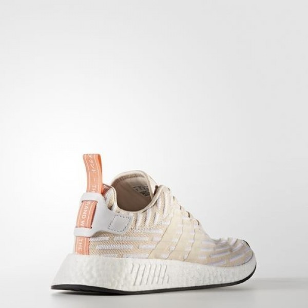 Adidas Nmd_R2 Primeknit Homme Trace Cargo/Core Black Originals Chaussures NO: BA7198