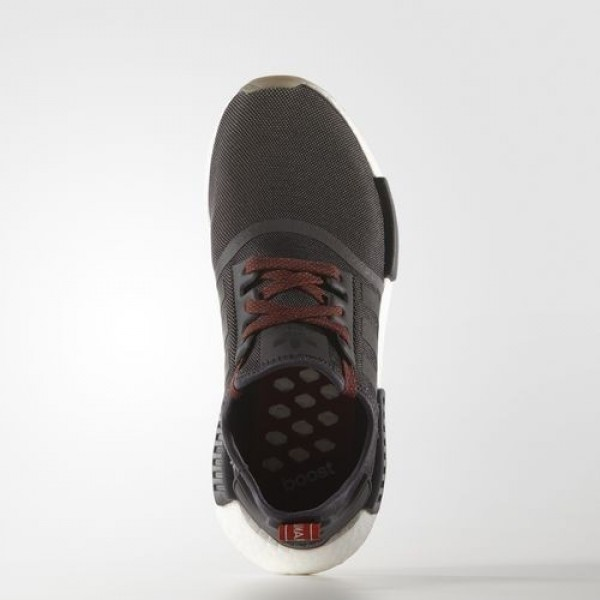 Adidas Nmd_R1 Trail Femme Utility Black/Utility Black/Craft Chili Originals Chaussures NO: BB3691