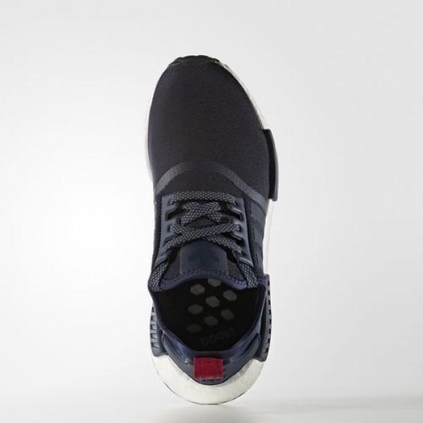 Adidas Nmd_R1 Femme Collegiate Navy/Collegiate Navy/Vintage White Originals Chaussures NO: S76011