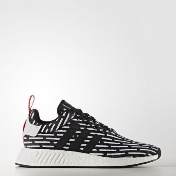 Adidas Nmd_R2 Primeknit Homme Core Black/Footwear ...
