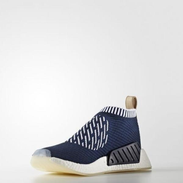 Adidas Nmd_Cs2 Homme Collegiate Navy/Footwear White/Pale Nude Originals Chaussures NO: BA7189