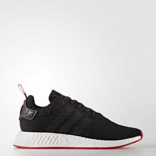 Adidas Nmd_R2 Primeknit Homme Core Black/Core Red ...