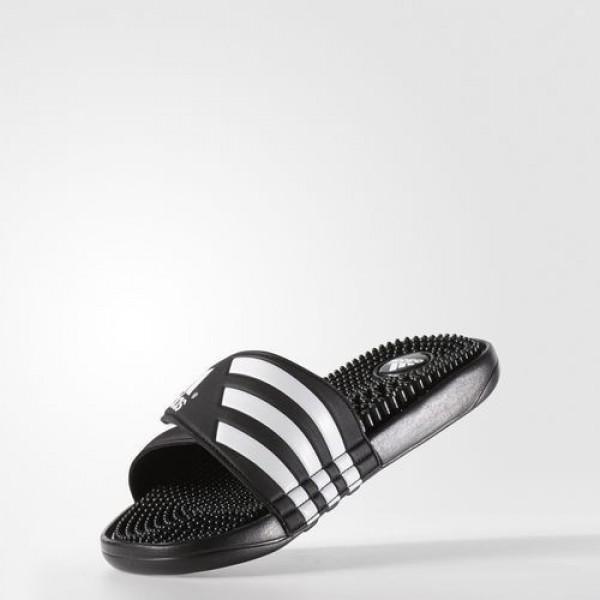 Adidas Sandale De Bain Adissage Homme Black/Footwear White Natation Chaussures NO: 78260