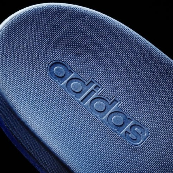 Adidas Sandale Adilette Supercloud Plus Femme EQT Blue/Footwear White Natation Chaussures NO: AQ4936
